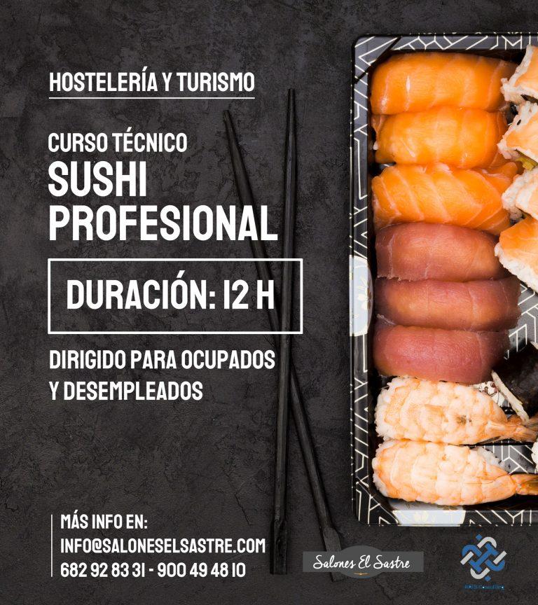 Formación Hostelería Curso de Sushi Profesional
