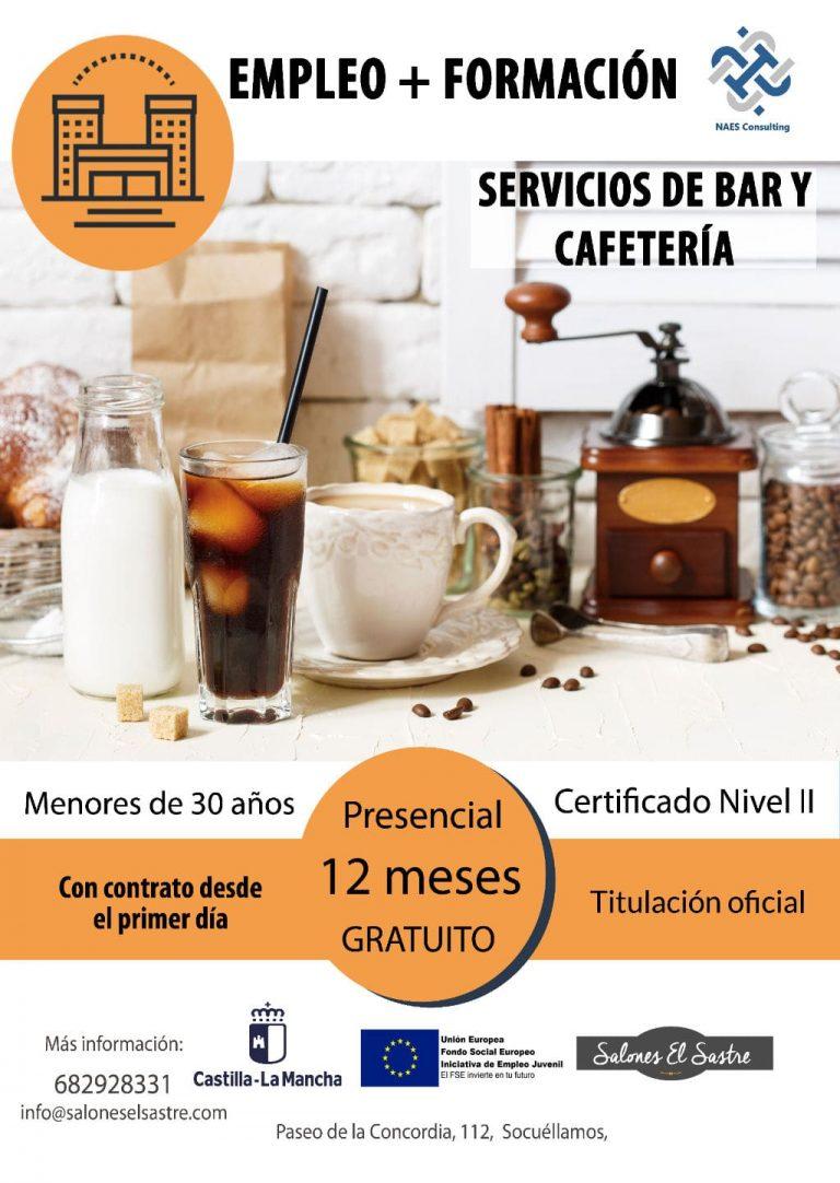 Servicio bar y cafetería Formación Dual